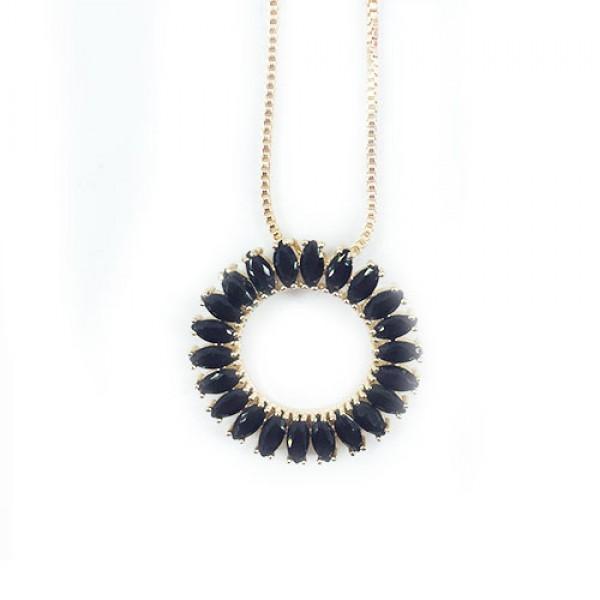 Colar Mandala Black