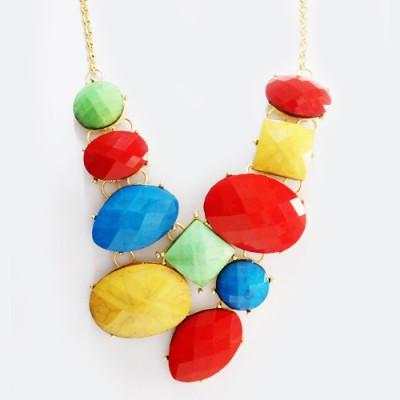 Maxi Colar Rocks Colors